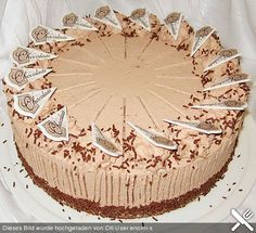Photo of Chocolate cream cake by superweib | chef
