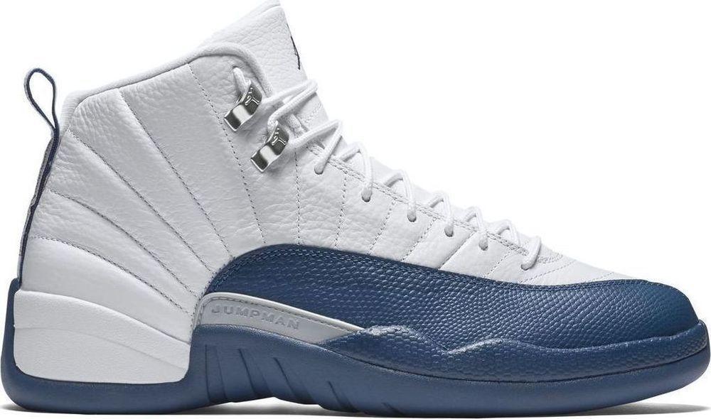 11bba99575e951 Nike Air Jordan Retro XII 12 French Blue And White Size 8-15 DS 130690 113  New  NikeJordan  BasketballShoes