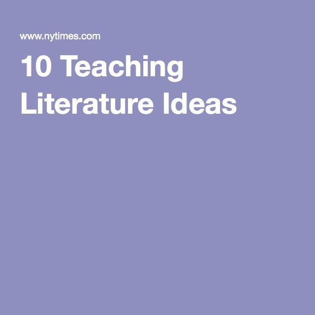 a compilation of literature teaching strategies This article describes a strategy for integrating math, science, and literature as it was implemented between two college methods classes, and shares the views of the college professors and the teacher candidates about using self-created children's literature as a teaching strategy.
