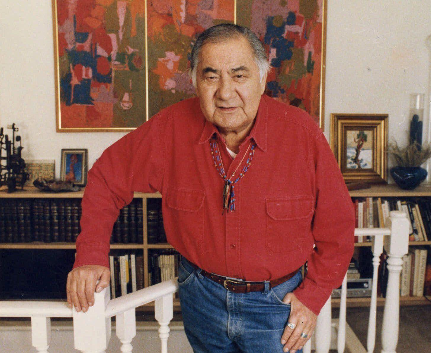 Minnesota artist George Morrison is
