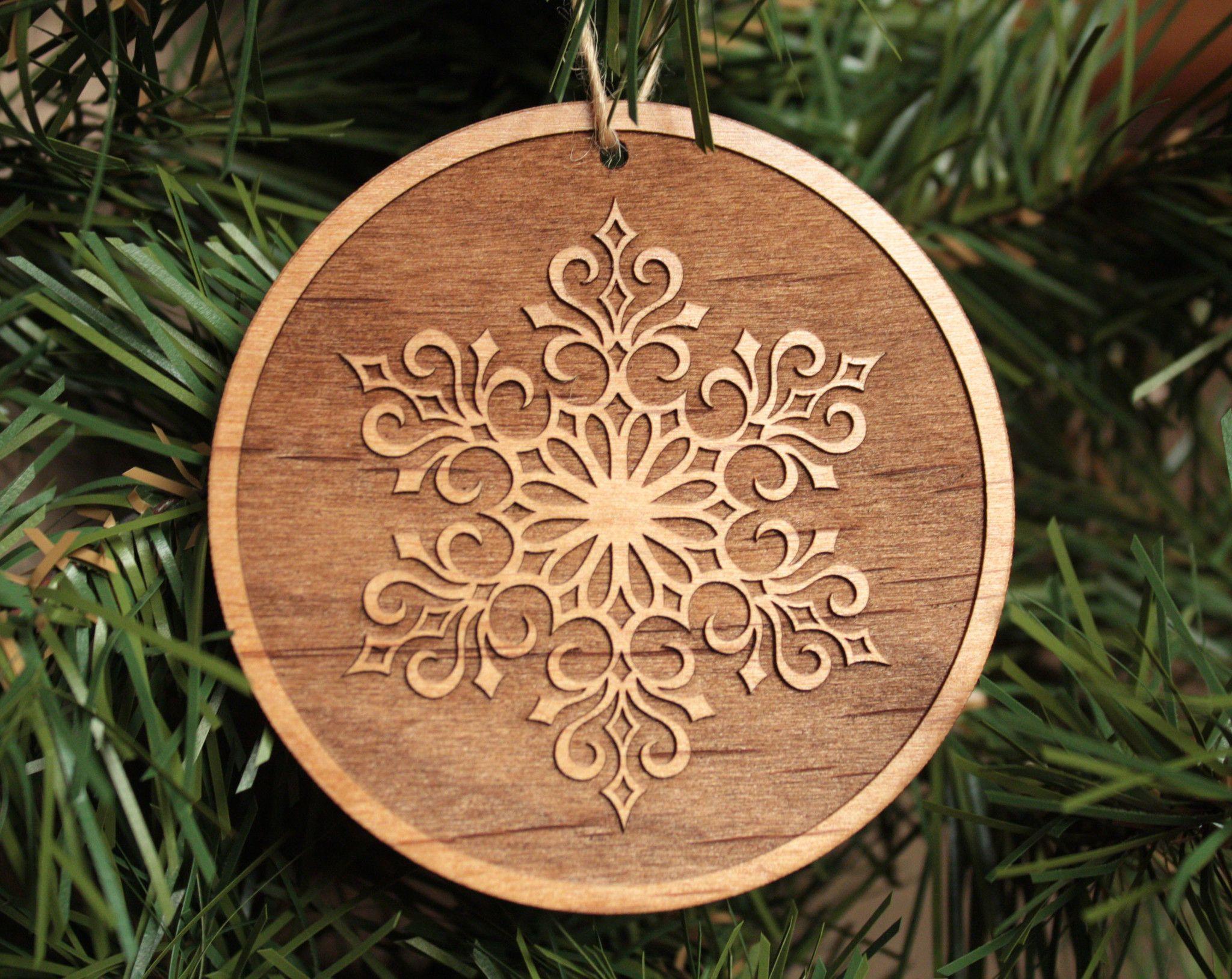 Wooden Snowflake Ornaments Christmas Decorations Unique Christmas Ornaments Wooden Christmas Trees Christmas Ornaments To Make