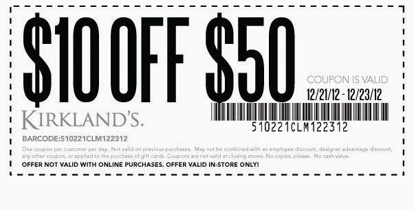 Free Printable Coupons Kirklands Coupons Printable Coupons Free Printable Coupons Kirkland Coupon