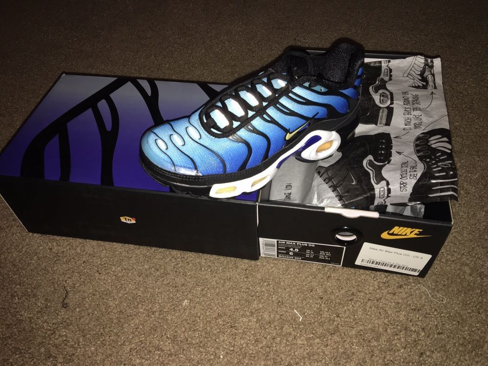 new style 334a9 b90d9 eBay  Sponsored Nike Air Max Plus OG TN Hyper Blue BQ4629-003 size 4.5