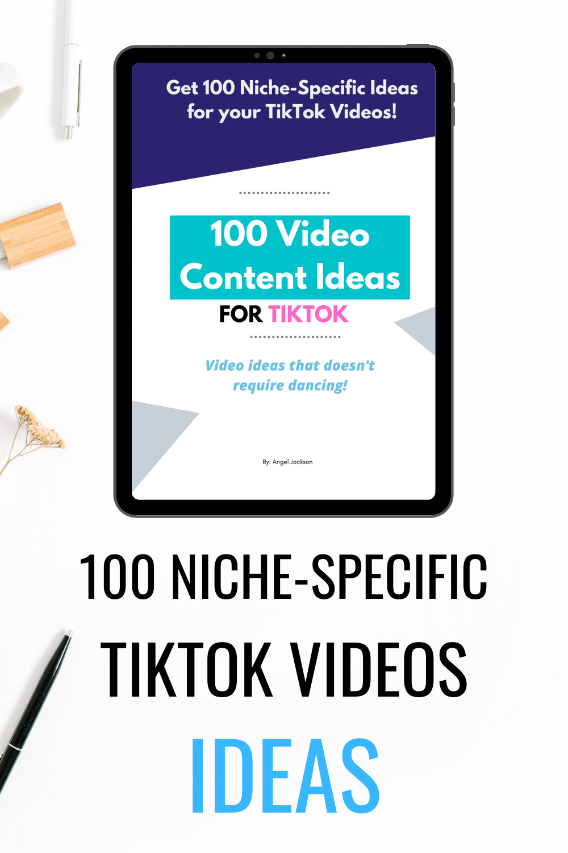 100 Tiktok Video Content Ideas Angelgrace Blog Social Media Video Content Content