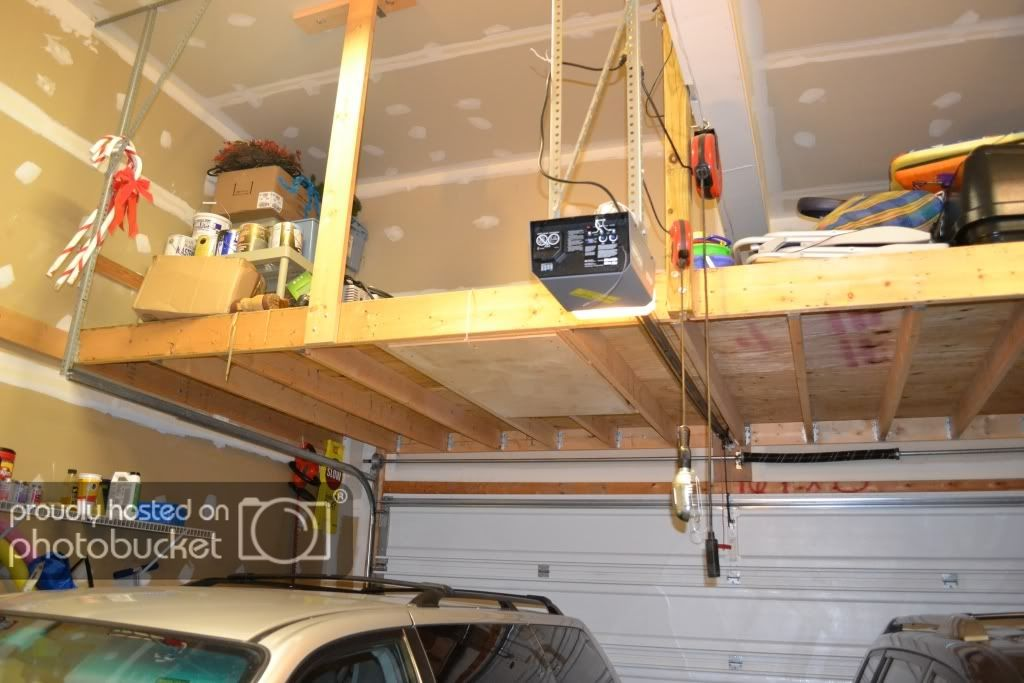 Attic Storage Loft Without Ground Support DoItYourself