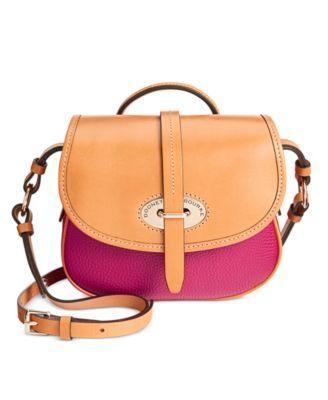 Dooney Bourke Verona Bionda Cristina Saddle Bag Crossbody Macys