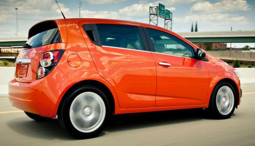 2016 Sonic Hatchback Car 5 Door Hatchbacks Chevy Sonic