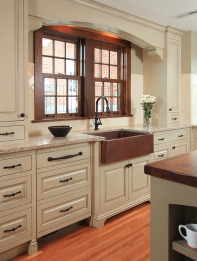 Amazing kitchen. The countertops shown here are quartz by