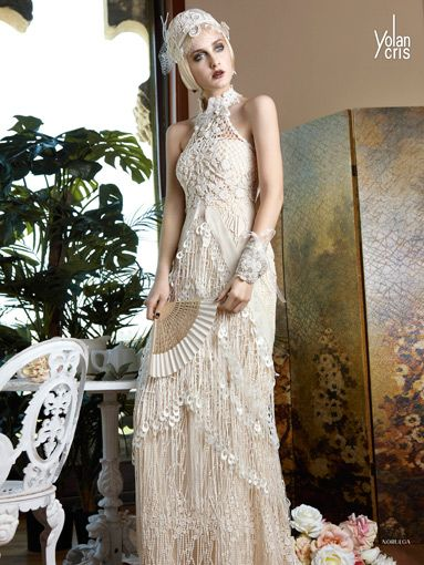 Yolancris The Great Gatsby An Iconic Style For Bridal Gowns By Brides Magazine