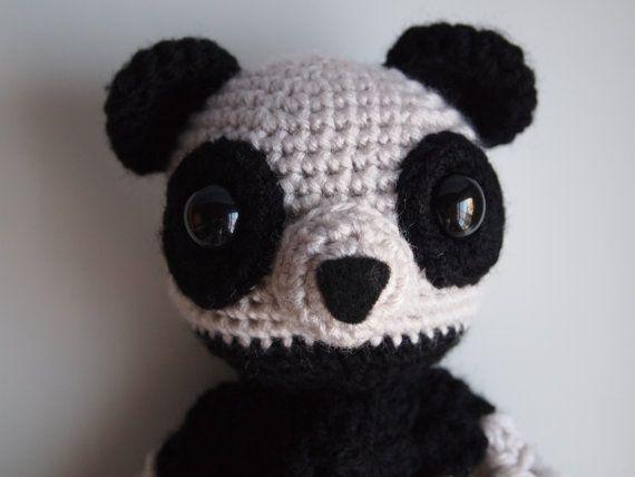 Amigurumi Panda Bear Security Baby Blanket Lovey PDF by HamAndEggs