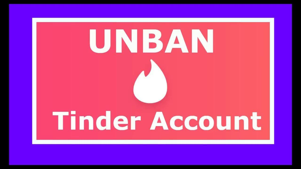 How To Unban Your Tinder Account In 2020 Tinder Account Tinder Accounting