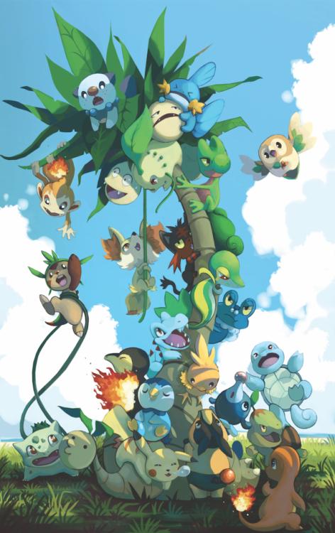 N Pikachu Pokemon Starters — Grabbers