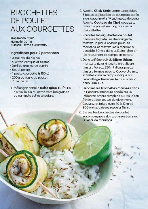 Le Micro Urban Recette Poulet Courgette, Recette Tuperware, Ananas, Recette  Sale, Cuisine
