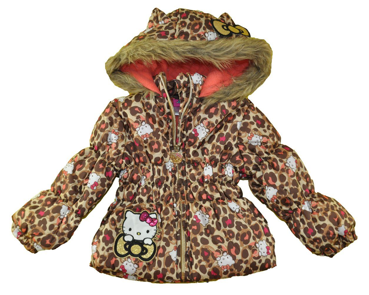 72f1afbed Hello Kitty Baby Girls Infant 2pc Printed Snowsuit Multi Leopard 24M *  Desire to know a lot more, click the picture. (This is an affiliate link).