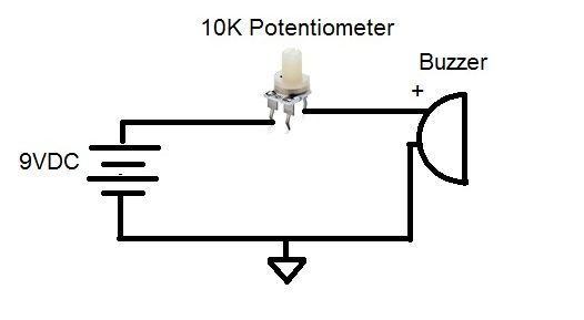 Potentiometer Circuit Is A Three Terminal Resistor With A Sliding Or Rotating Contact That Forms An Adjustable Voltage Divider Circuit Electronics Circuit