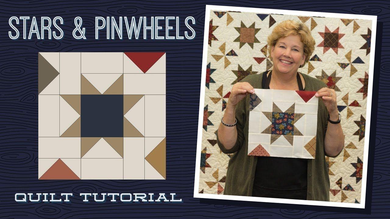 Make A Stars Pinwheels Quilt With Jenny Youtube Missouri Quilt Tutorials Missouri Star Quilt Company Pinwheel Quilt