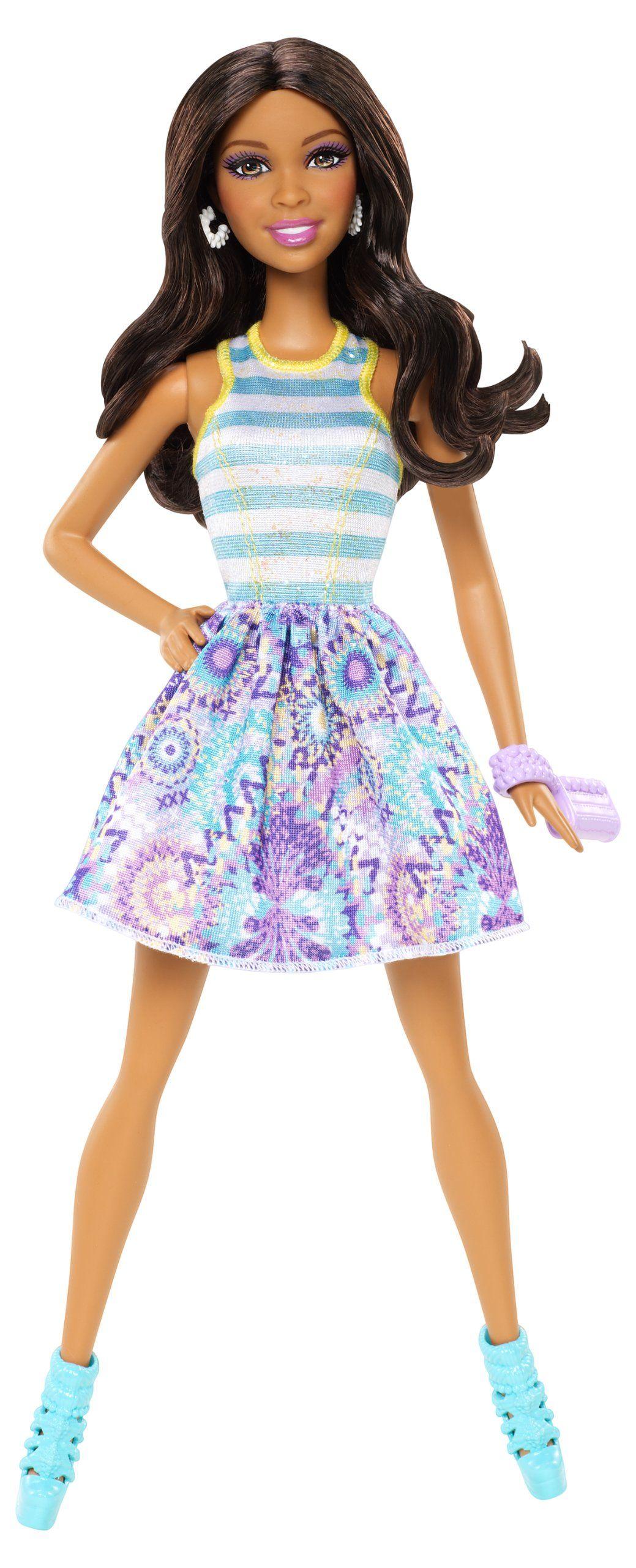 Barbie fashionistas nikki doll