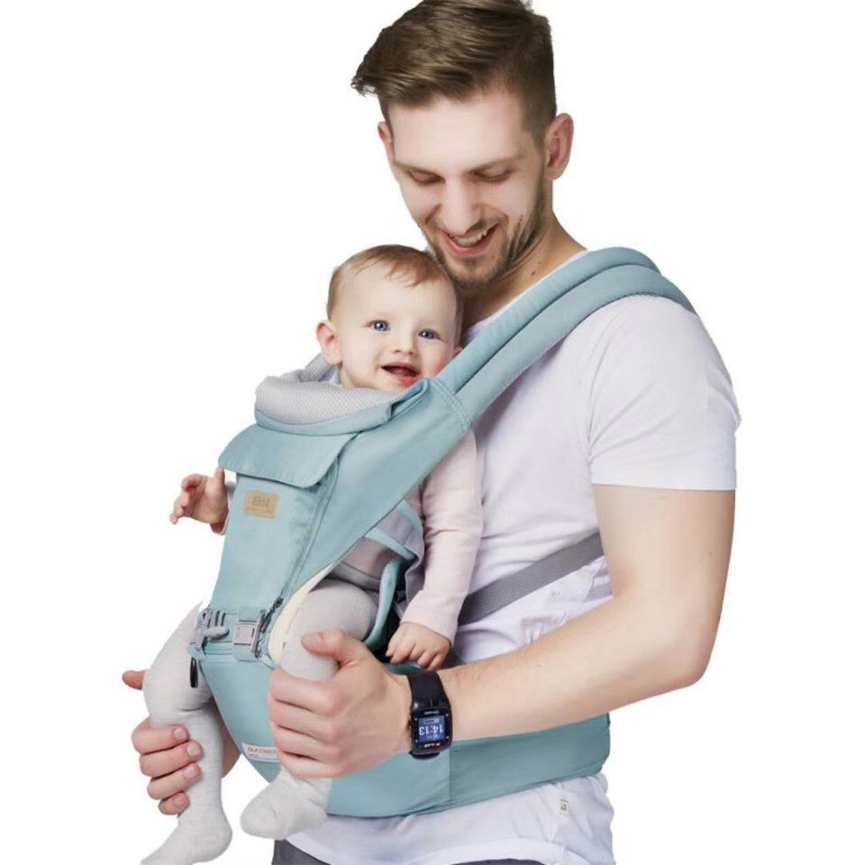 Original Stretchy Baby Sling Eccomum Baby Sling Carrier for Infant up to 40 lbs Hands-Free Breathable Mesh Softness with Carry Bag 200 inches Length Baby Wrap Carrier Lightweight