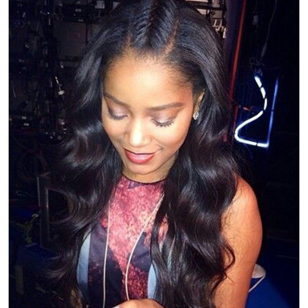 density x long space lace front human hair wigs with baby