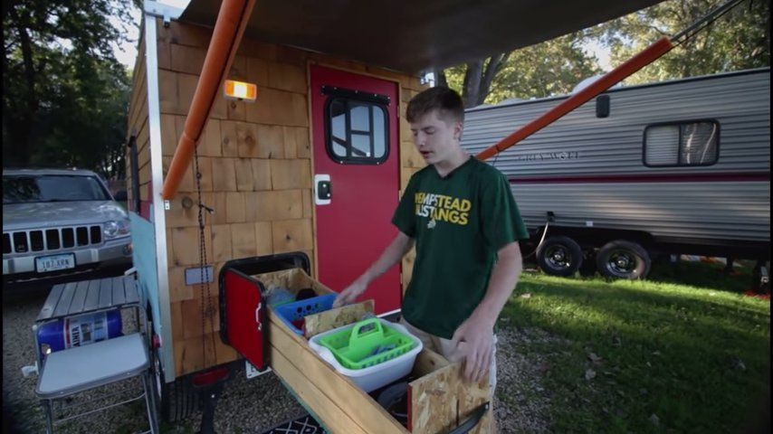 14 Year Old Brothers Build Their Own Teardrop Camper In 2020