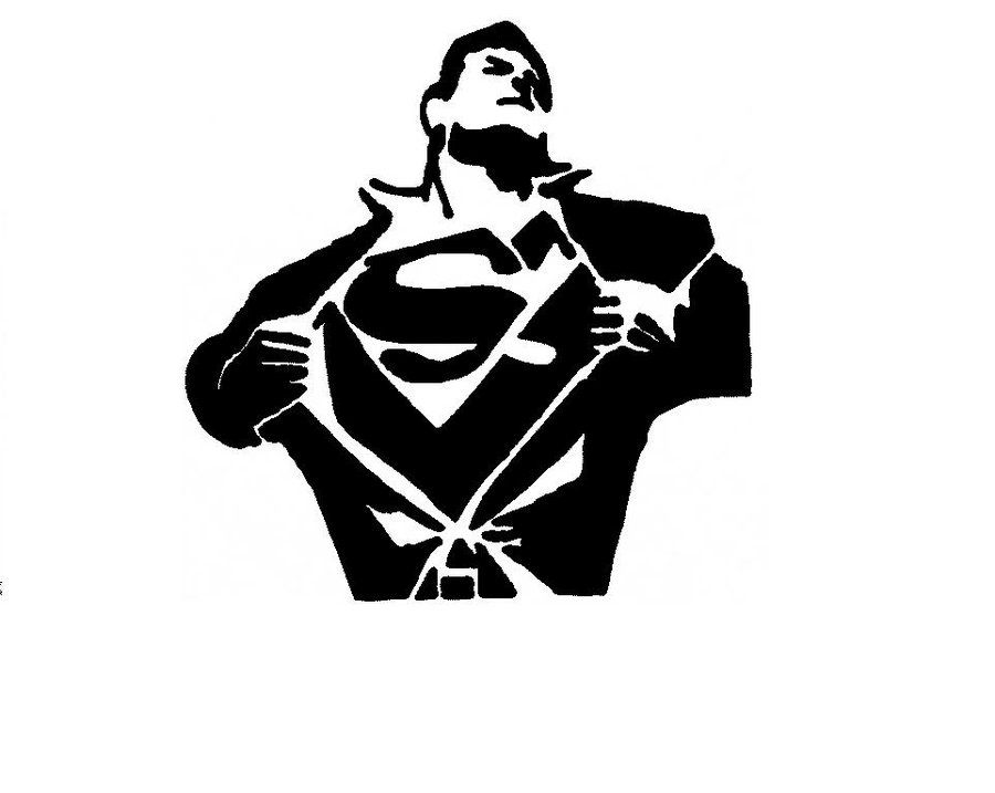 Superman stencils pinterest stenciling and craft