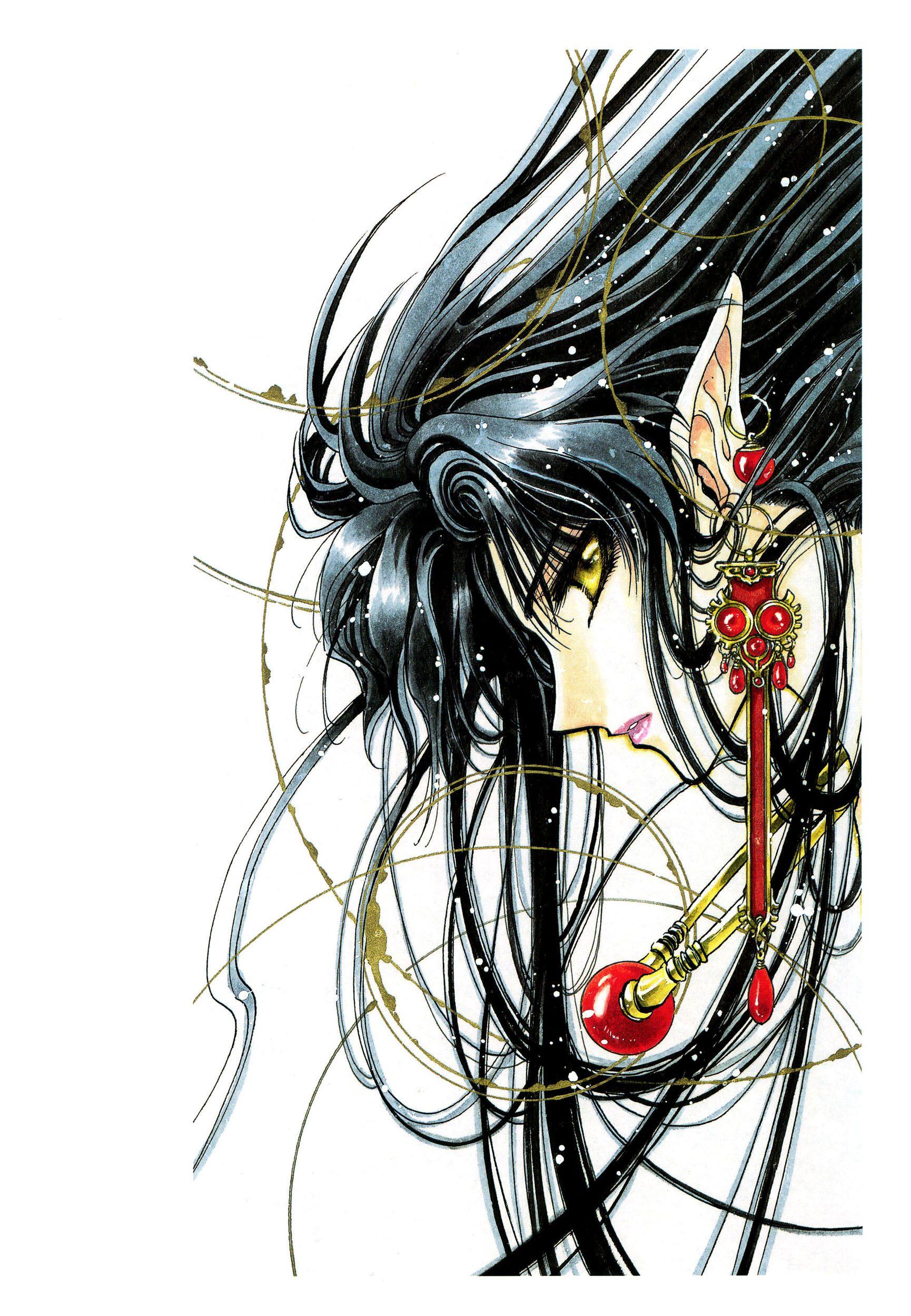 RG Veda Anime, Manga illustration, Rg veda