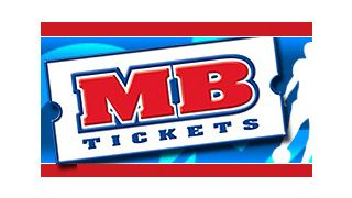 Official logo design of MBtickets.com - my number resources for event tickets