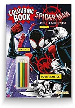 Spider-Man: Into the Spider-Verse Colouring Book with ...