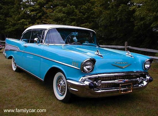 1957 Chevy Bel Air Baby S Dream Car My First Post Lottery Win