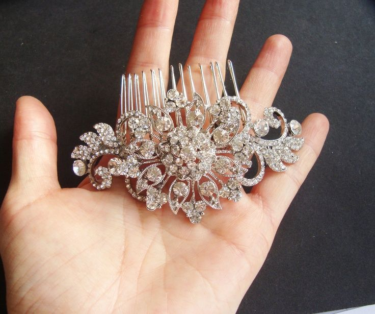 Explore Bridal Hair Combs Vintage And More