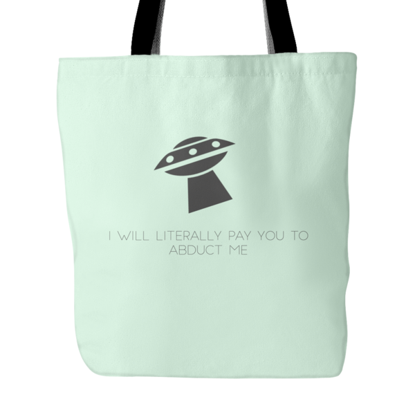 UFO Tote Bag  FREE SHIPPING!!  Shop Now --- >  www.snatchgoods.com