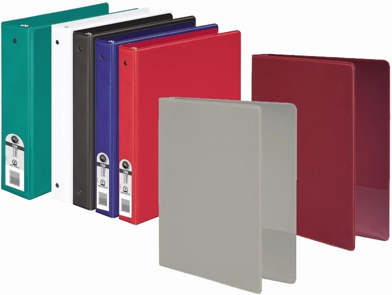 Avoid The Falling Out Of Your Papers With The Absolute Perfect Grip Of Fully Enclosed 2 Inch Binder Offered By Unikeep I Binder Custom Vinyl 1 Inch Binder