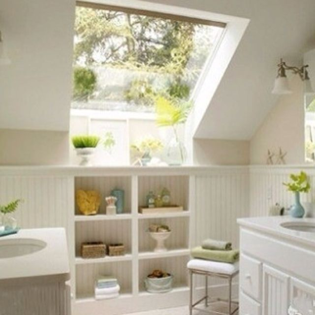 Before and After Bathroom Renovations and Makeovers attic