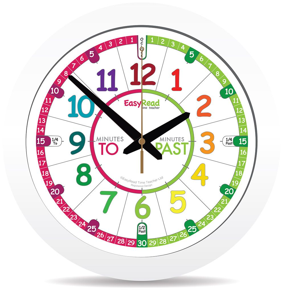 Easyread Time Teacher Kids Clock Classroom Clock