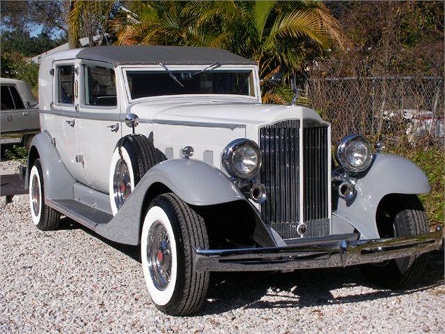 Rare Packard Limousine