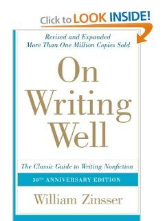 on writing well the classic guide to writing nonfiction