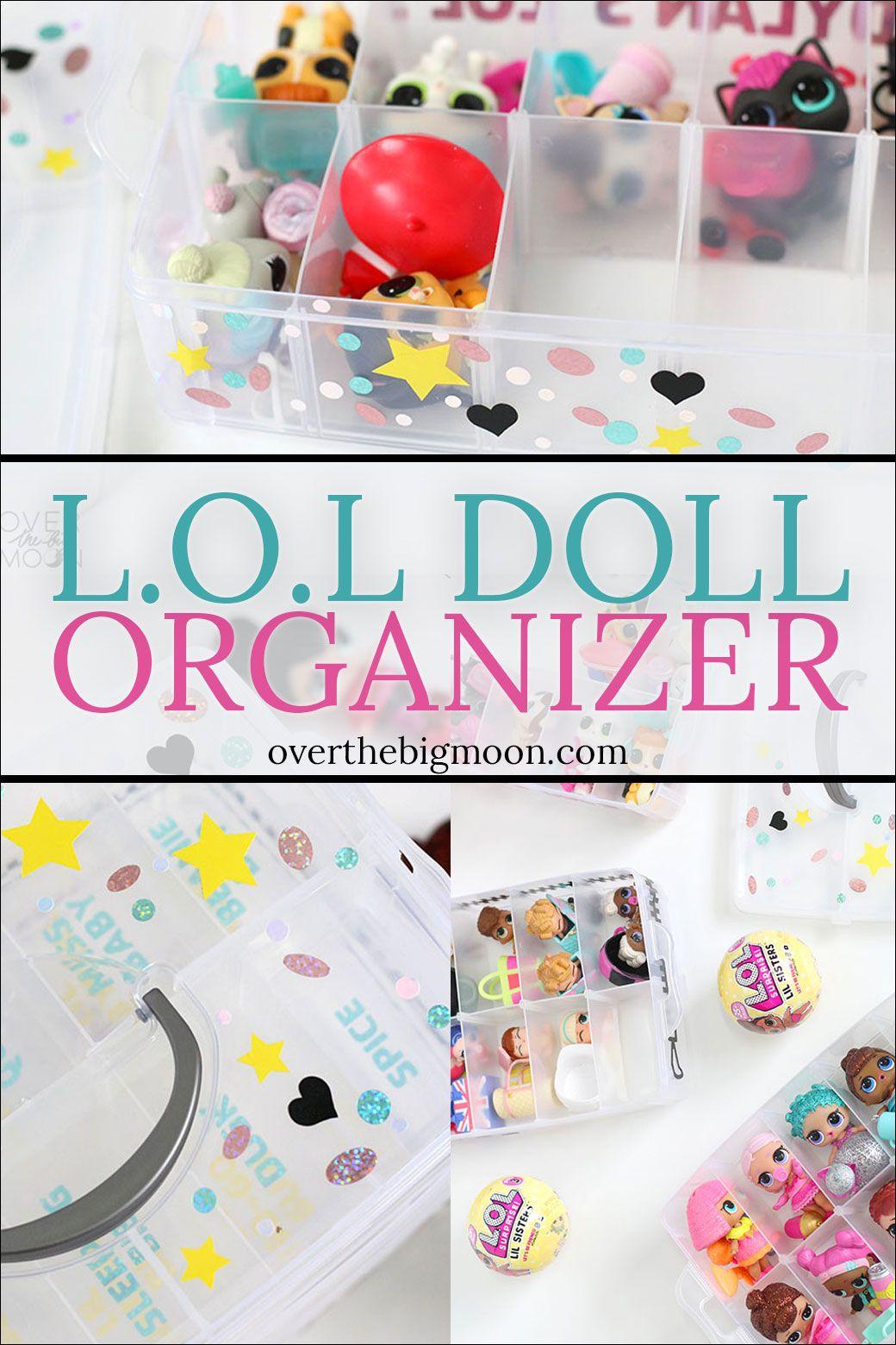 Lol Doll Organizer With Cricut Wisteria Bundle Being Creative