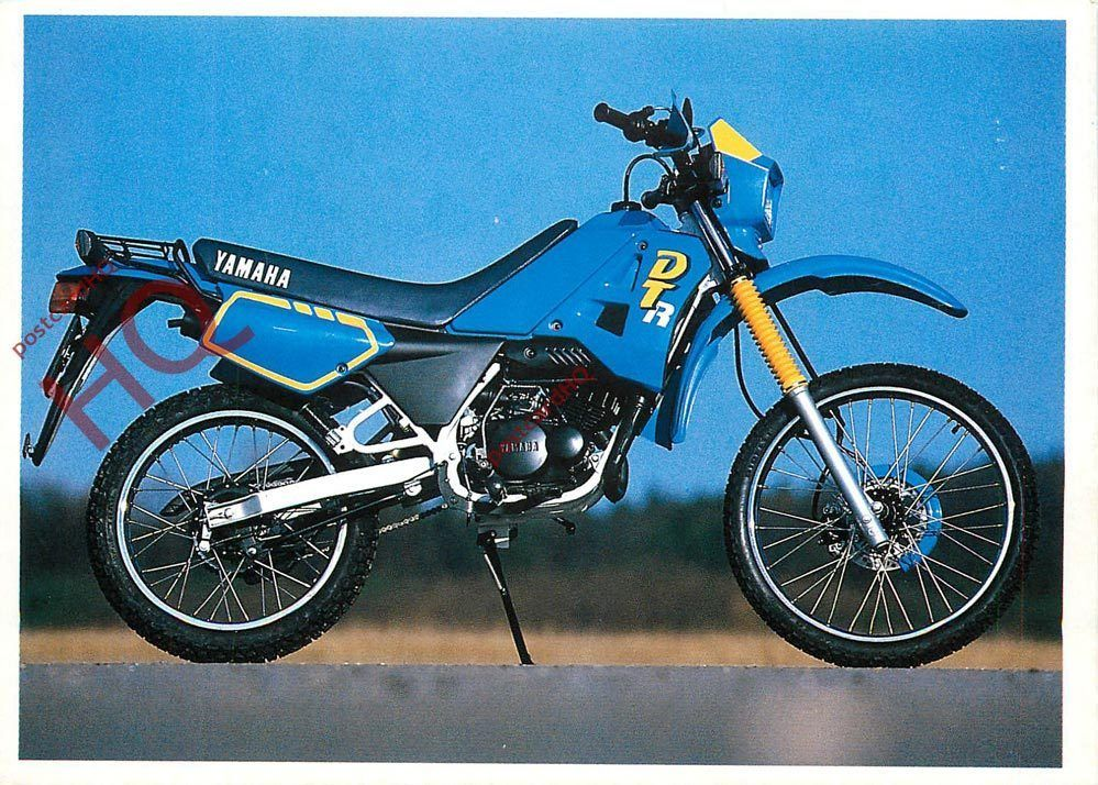 postcard yamaha dt 50 motorbike ebay 2 wheels junkies pinterest 50cc moped and wheels. Black Bedroom Furniture Sets. Home Design Ideas