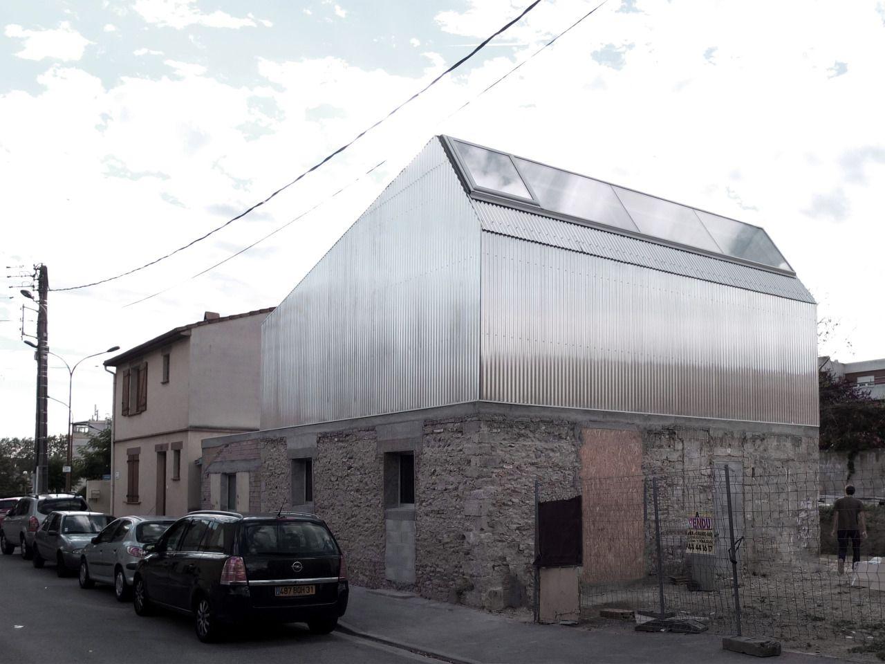 Bast - M03 house addition, Toulouse 2013. Photos © Bast. [[MORE]]