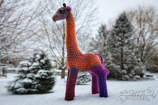 Giraffe pattern by Megan Lapp
