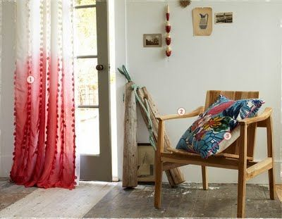 Awesome Anthro Wavering Ombre Curtain Ideas