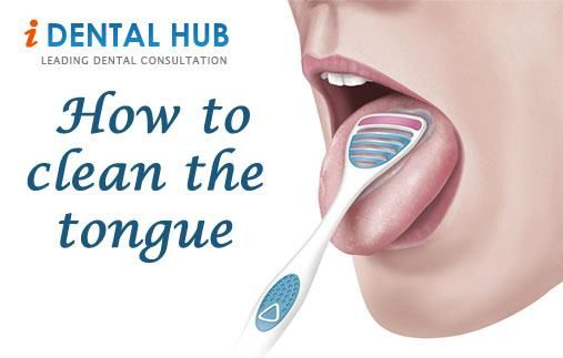 Cleaning Tongue Benefits Of Cleaning How To Clean Tongue Tongue Cleaning With The Tongue Scrapper Tongue Cleaner Dental Facts Tongue