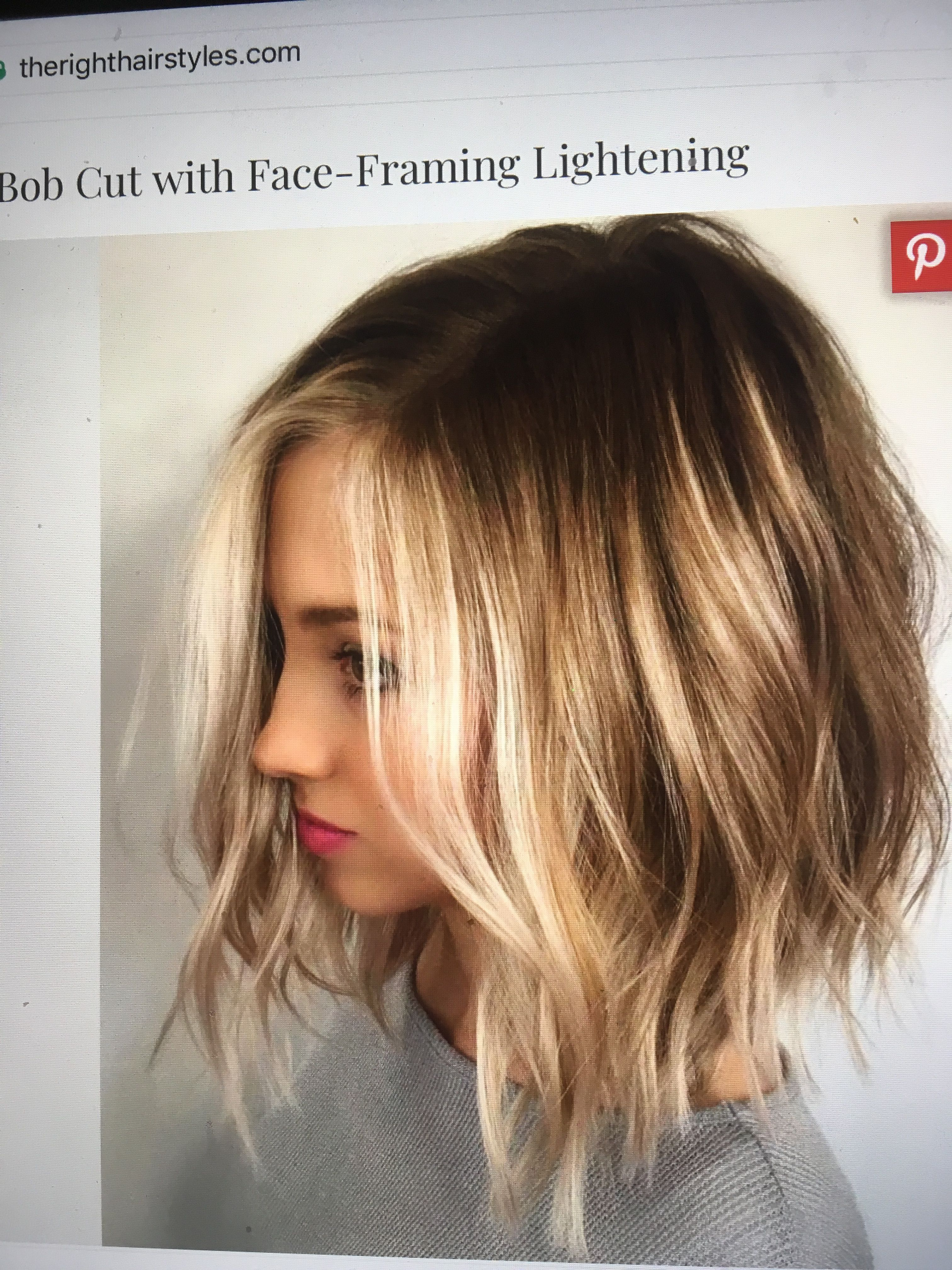 medium length bob | favorite hairstyles & color in 2019