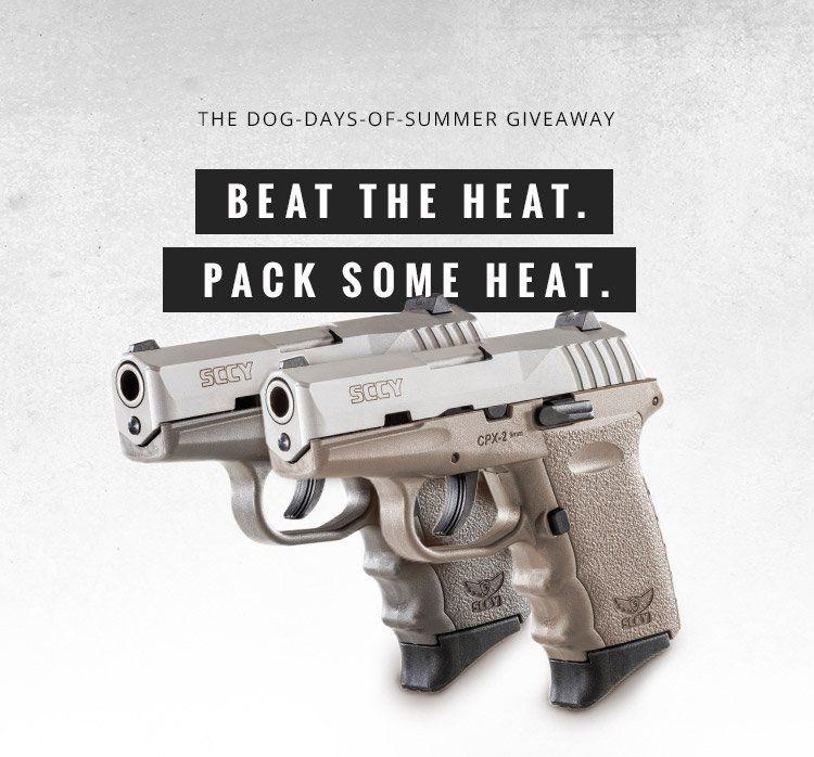 SCCY 9mm Pistol Giveaway | Handgun Giveaways | Hand guns