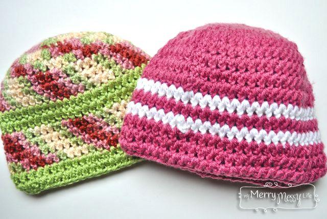 Crochet Stitch Photo Tutorial Forked Half Double Crochet Half