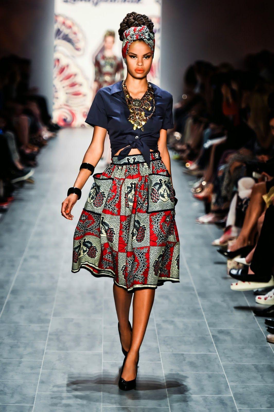 2f0b5f63a2cf1 African Prints in Fashion  Lena Hoschek  Austria s answer to Stella Jean