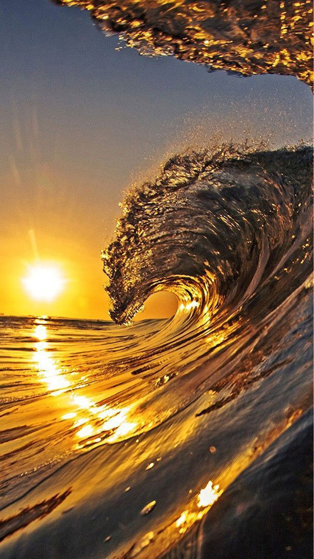 sunset waves sunset pictures landscape photography