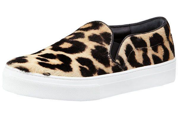 Walk in My Closet's Ambre Dahan Reveals Her Malibu Suitcase - Céline Leopard Print Calf Hair Sneakers