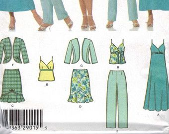 Misses Sewing Pattern Burda 7004 Misses by historicallypatterns