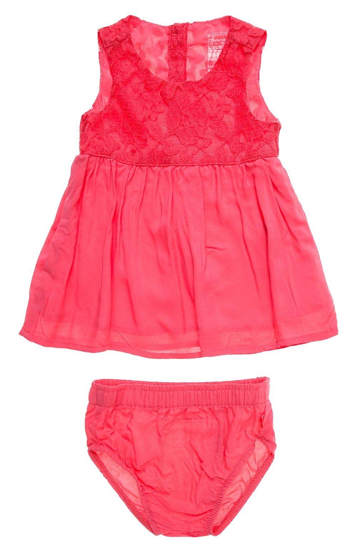 cc1835a18 Vestido para bebé niña en tejido plano.Compra en la tienda On Line de Off